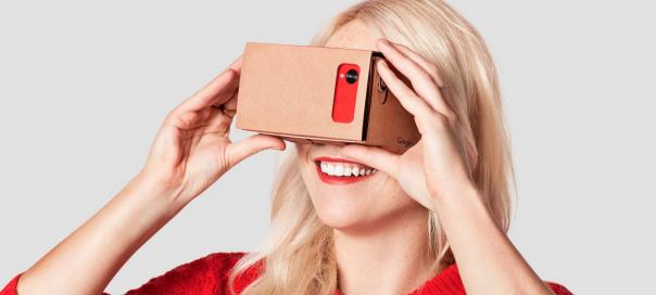 Cardboard Caméra : Vidéos 360° filmées pour le cardboard de Google