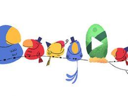 Google : Doodle Bonne Année 2016