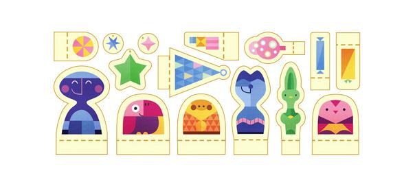 Google : Doodle Joyeuses fêtes