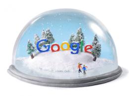 Google : Doodle solstice d'hiver 2015