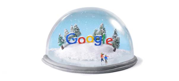Google : Le solstice d'hiver 2015 en doodle animé
