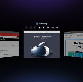 Samsung crée son propre navigateur pour casque de réalité virtuelle