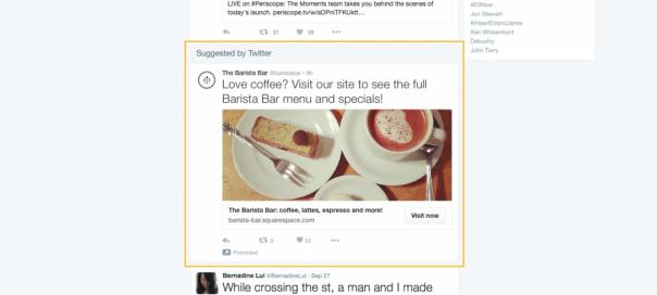 Twitter déploie les tweets sponsorisés aux internautes non-connectés
