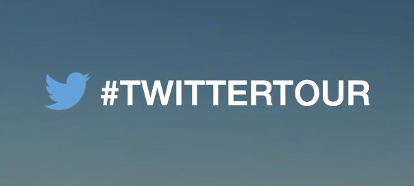 Logo #TwitterTour