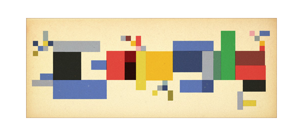 Google : Sophie Taeuber-Arp et le dadaïsme en doodle