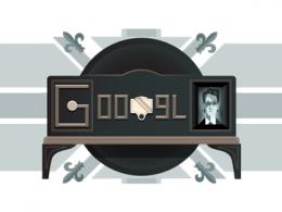 Google : Doodle John Logie Baird - Télévision mécanique