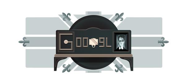 Google : L'inventeur de la télévision mécanique en doodle
