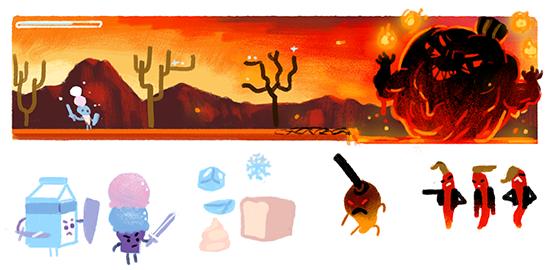 Google : Doodle Wilbur Scoville - Jeu