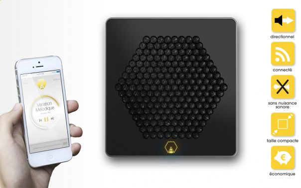 Enceinte A d'Akoustic Arts - Smartphone & caractéristiques