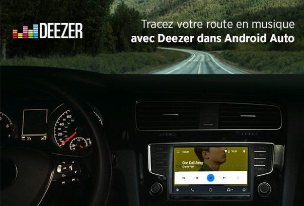 deezer compatible avec android auto weblife. Black Bedroom Furniture Sets. Home Design Ideas