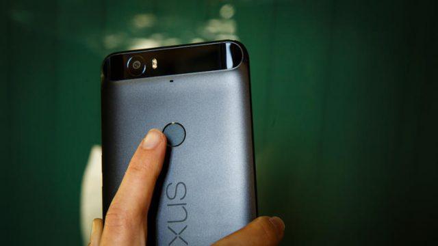 Empreinte digitale Nexus 6P
