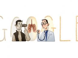 Google : Doodle René Laennec
