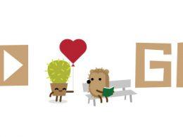Google : Doodle Saint Valentin 2016