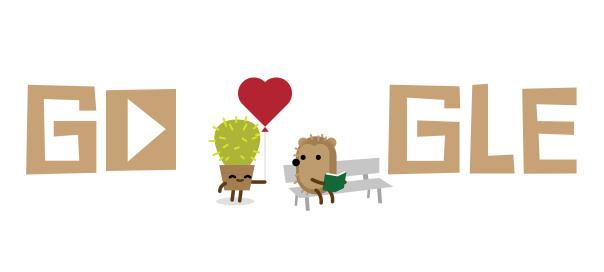 Google : Saint Valentin 2016 en doodles