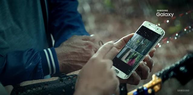 Samsung Galaxy S7 resistant à l'eau