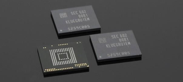 Samsung : Une puce de 250 Go à 850 Mo/s pour les équipements mobiles