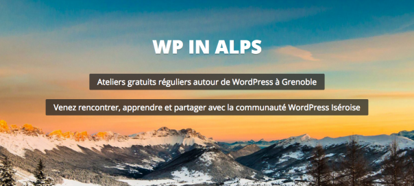 WordPress in Alps