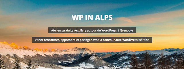 WordPress in Alps
