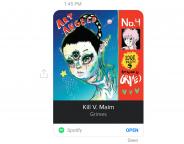 Facebook Messenger : Partage de musique & playlists Spotify