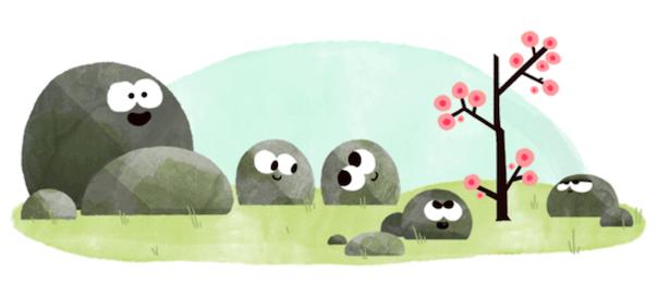 Google : Doodle équinoxe printemps 2016