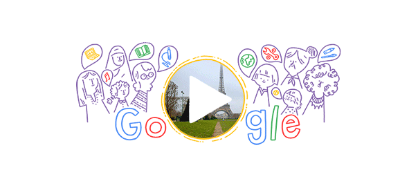 Google : Journée internationale des femmes 2016 en doodle