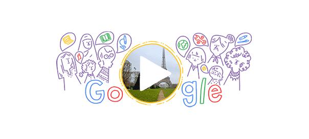 Google : Doodle Journée internationale des femmes 2016