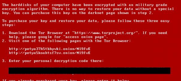 Petya : Le ransomware qui attaque votre disque dur directement