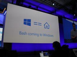 Windows 10 : Bash