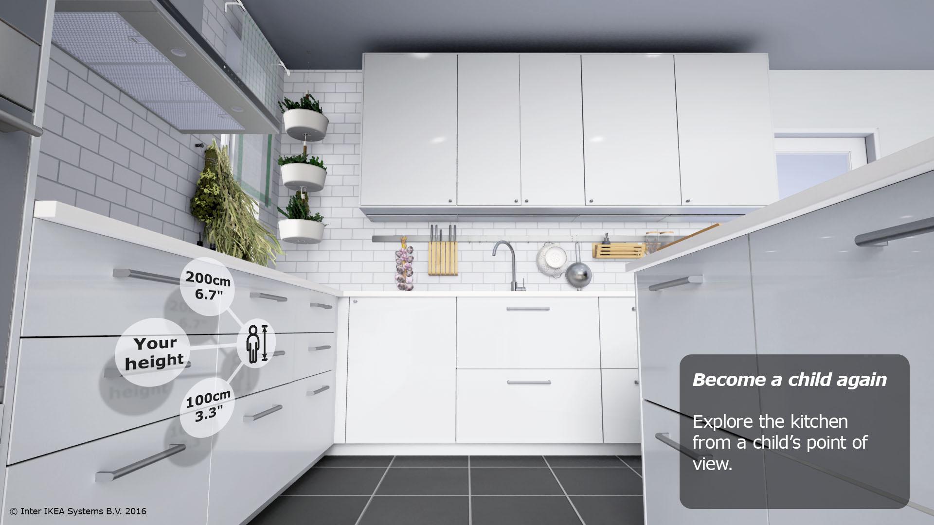 La r alit virtuelle pour visiter votre future cuisine ikea weblife - Ikea changement d adresse ...