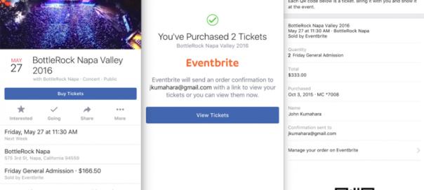Achetez vos billets Eventbrite directement dans Facebook