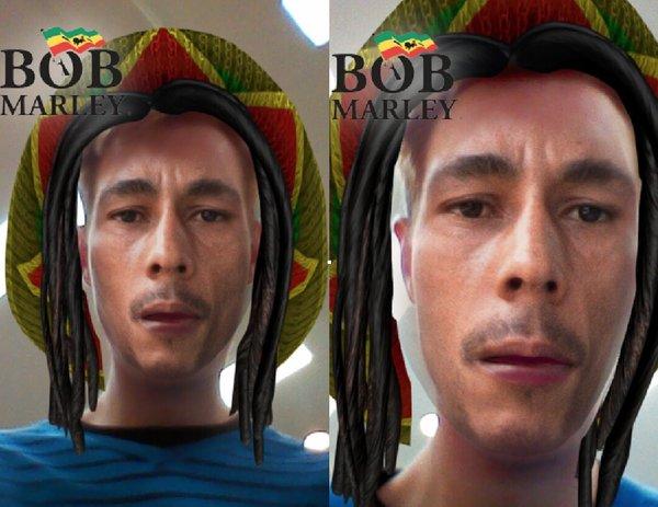 Bob Marley Snapchat