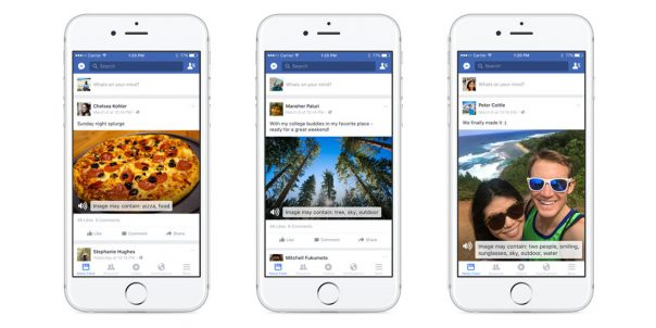 Facebook : Photos - Reconnaissance par intelligence artificielle