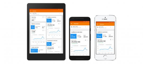 Google Analytics : La nouvelle application mobile est disponible
