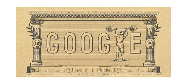 Google : Doodle Jeux Olympiques modernes