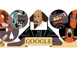 Google : Doodle William Shakespeare