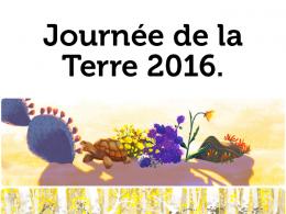 Google : Doodles pour la Journée de la Terre 2016-doodles