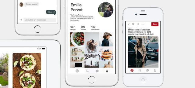 Pinterest : Application mobile
