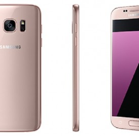 Samsung Galaxy S7 bientôt disponible en Pink Gold