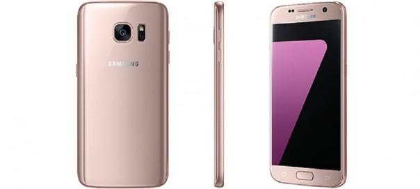 Samsung Galaxy S7 bientôt disponible en Pink Gold