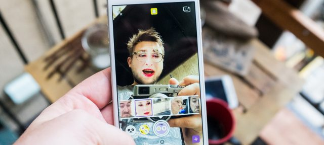Snapchat : Echange de visages