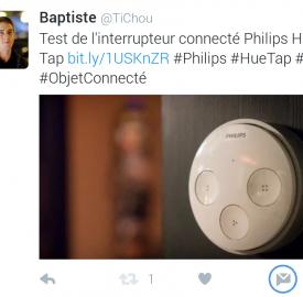 Twitter facilite le partage de tweet en message privé