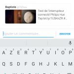 Twitter : Bouton de partage de tweet par DM - Message