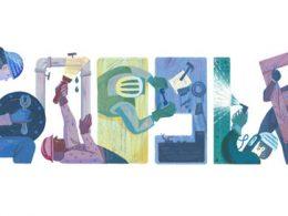 Google : Doodle Fête du travail 2016