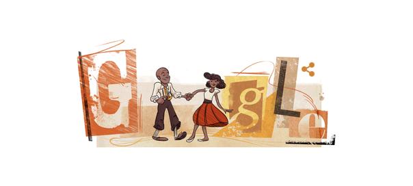 Google : Frankie Manning et le Lindy Hop en doodle animé