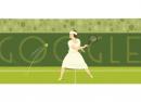 Google : Suzanne Lenglen, la joueuse de tennis en doodle