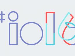 Logo Google I/O 2016
