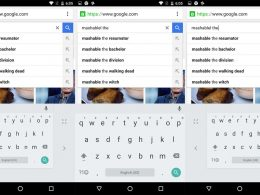 Clavier Android 5.0