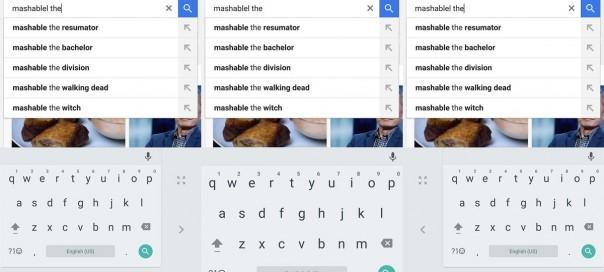 Google : Un nouveau clavier utilisable avec une seule main