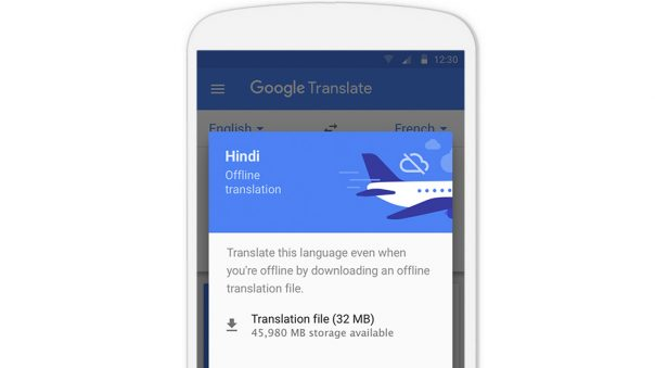 Google Traduction hors connexion