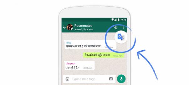 Google Traduction dans toutes les apps et autres nouveautés